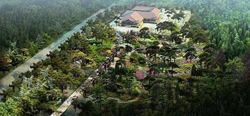 室外楼顶景观-主营项目-北京景天环艺园林景观工程